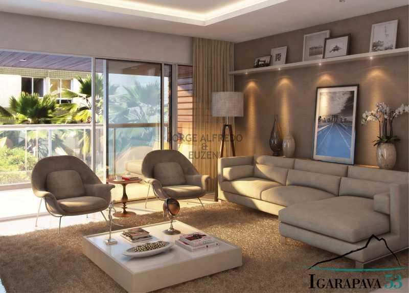 image011 - Leblon, Rua Igarapava- Aparartamento 3 quartos(suite), Garagem, prédio com total infraestrutura - JAAP30031 - 3
