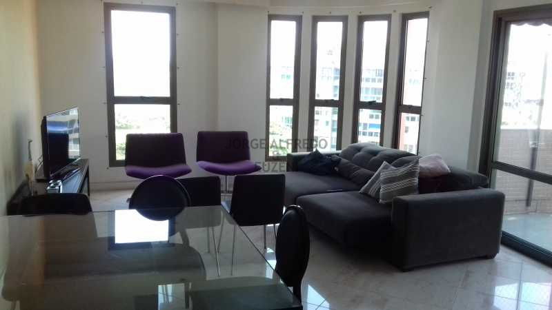 20161111_134400 - Barra da Tijuca, Avenida Sernambetiba, Cobertura, Duplex, Churrasqueira 3 suites, 3 vagas de garagem, sala, varanda, cozinha - JACO30004 - 5
