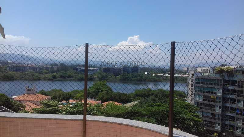 20161111_134833 - Barra da Tijuca, Avenida Sernambetiba, Cobertura, Duplex, Churrasqueira 3 suites, 3 vagas de garagem, sala, varanda, cozinha - JACO30004 - 4