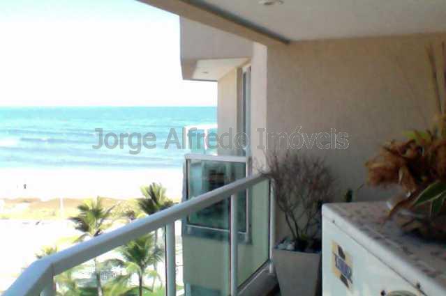 Foto criada em 18-08-12 a?s 0 - Apartamento 1 quarto à venda Recreio dos Bandeirantes, Rio de Janeiro - R$ 490.000 - JAAP10001 - 1