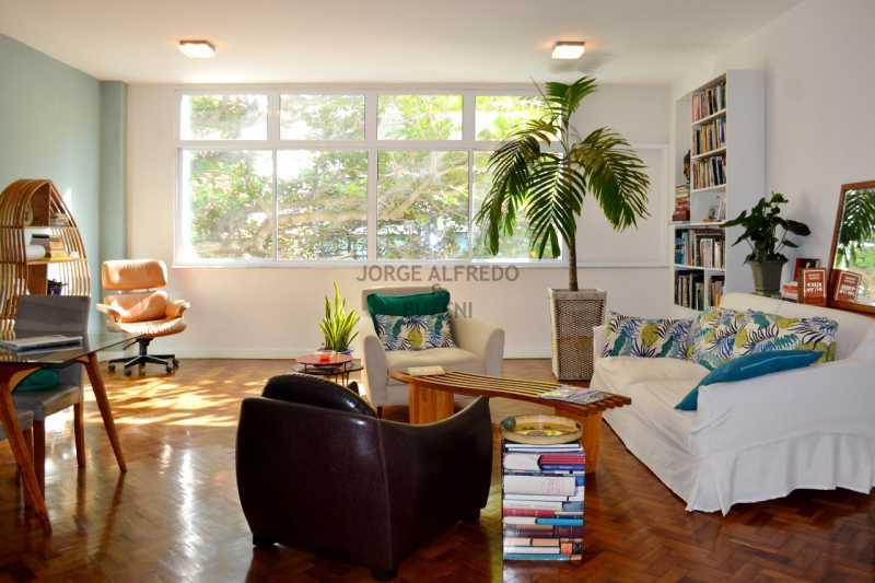 edDSC_0069 - Venha Viver o MELHOR !!! Apto Ipanema,frente,130 m2 Todo reformado por arquiteto. apenas 50 metros da praia.Vista Lateral da praia pela sala e suite,com uma linda amendoeira em frente,3 qtos 1 ste - JAAP30041 - 7