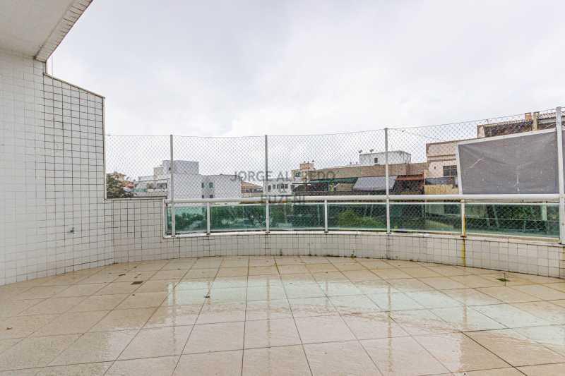 _MG_varanda2 - Cobertura 3 quartos à venda Recreio dos Bandeirantes, Rio de Janeiro - R$ 1.400.000 - JACO30014 - 1