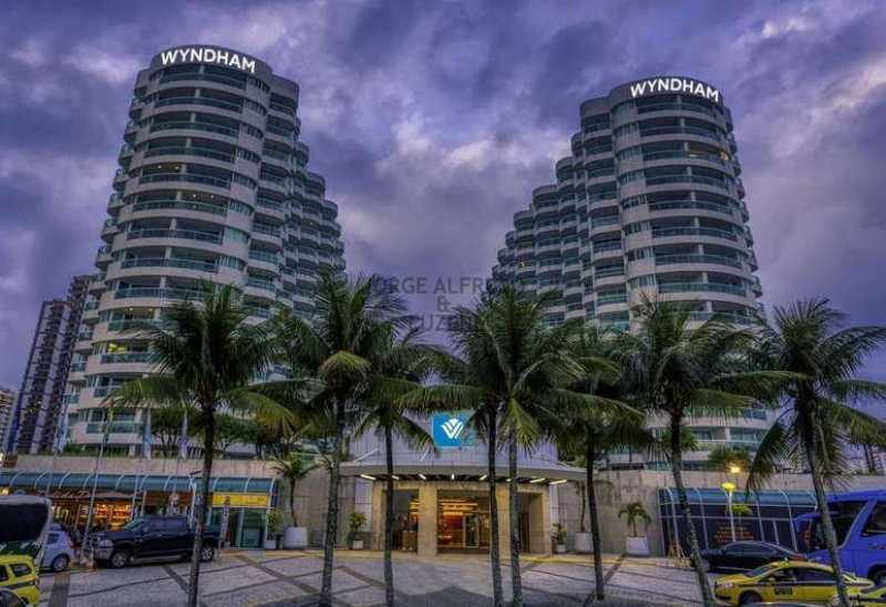 sheraton zeni. - Flat para alugar Barra da Tijuca, Rio de Janeiro - R$ 2.500 - JAFL00002 - 1