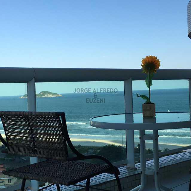 2. - Flat para alugar Barra da Tijuca, Rio de Janeiro - R$ 2.500 - JAFL00002 - 3