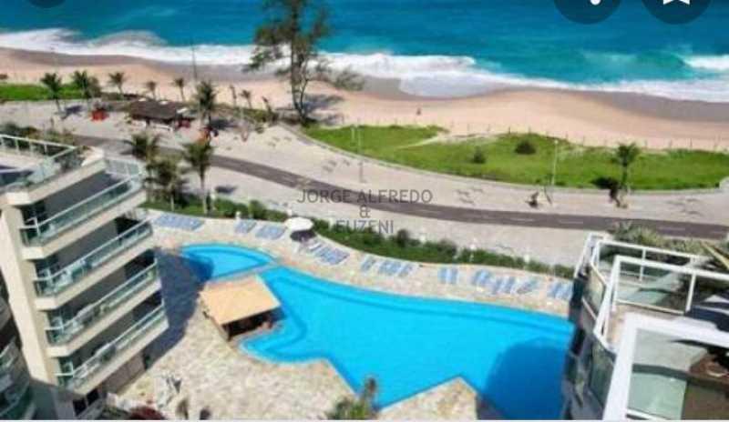 villa del sol. - Flat 1 quarto à venda Recreio dos Bandeirantes, Rio de Janeiro - R$ 650.000 - JAFL10022 - 1