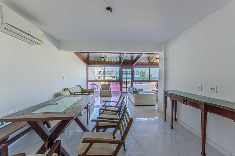 Sala 1 - Cobertura Vista Mar com 222 mt2 , Recreio dos Bandeirantes - JACO30017 - 8