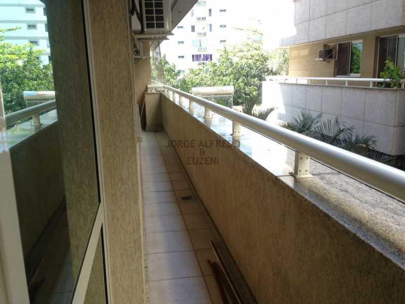 19 varanda - Vendo Condominio Lagoa Stylus - Avenida Lineu de Paula Machado 3 quartos . Oportunidade!! - JAAP30080 - 20