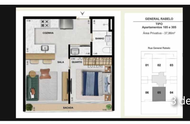 WhatsApp Image 2021-07-12 at 1 - Apartamento 1 quarto à venda Gávea, Rio de Janeiro - R$ 835.634 - JAAP10025 - 4