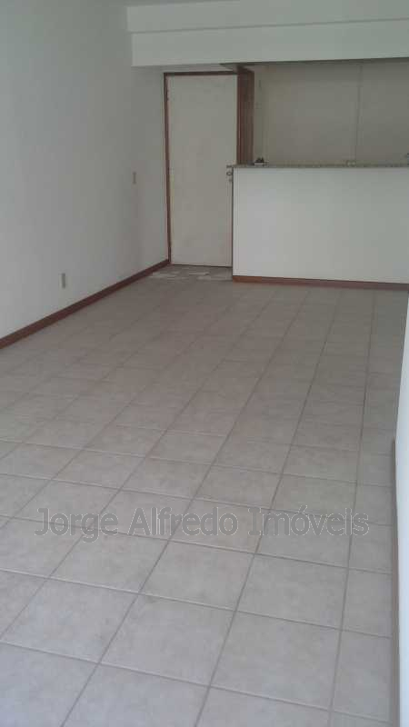 Sala vista de dentro - Apartamento à venda Avenida Genaro de Carvalho,Recreio dos Bandeirantes, Rio de Janeiro - R$ 660.000 - JAAP20010 - 4