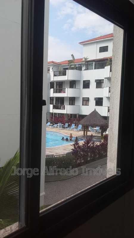 Vista da suíte - Apartamento à venda Avenida Genaro de Carvalho,Recreio dos Bandeirantes, Rio de Janeiro - R$ 660.000 - JAAP20010 - 13