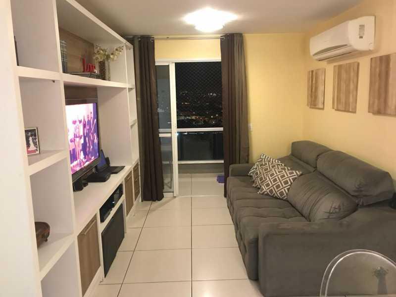 1 - Apartamento 3 quartos à venda Cachambi, Rio de Janeiro - R$ 490.000 - PPAP30086 - 1