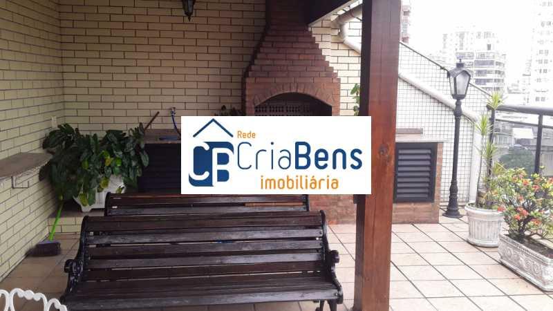 2 - Cobertura 4 quartos à venda Cachambi, Rio de Janeiro - R$ 910.000 - PPCO40002 - 3
