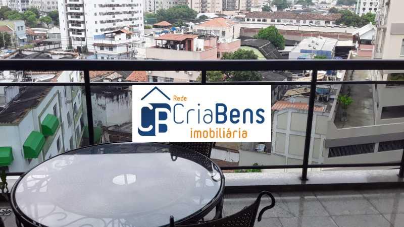 11 - Cobertura 4 quartos à venda Cachambi, Rio de Janeiro - R$ 910.000 - PPCO40002 - 12