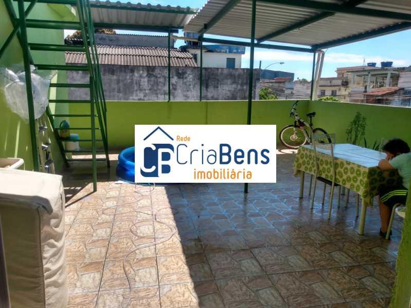 5 - Casa 3 quartos à venda Inhaúma, Rio de Janeiro - R$ 230.000 - PPCA30106 - 6