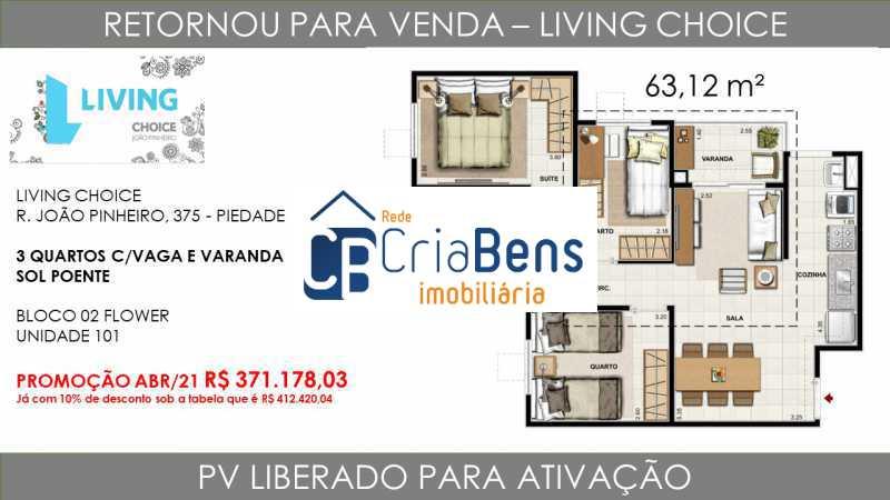 9 - Apartamento 3 quartos à venda Piedade, Rio de Janeiro - R$ 371.178 - PPAP30173 - 10