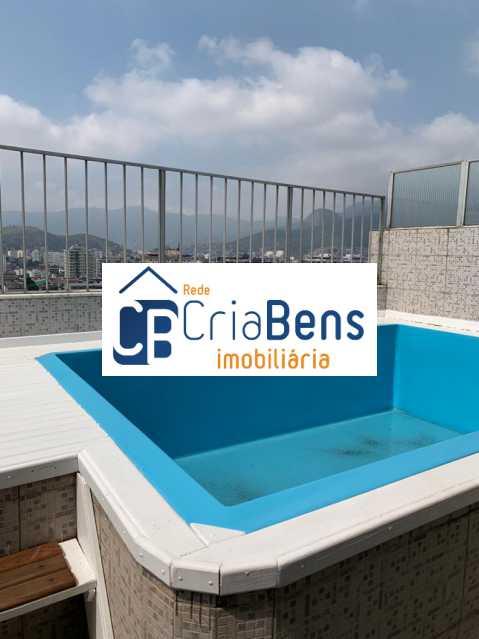 5 - Cobertura 3 quartos à venda Cachambi, Rio de Janeiro - R$ 670.000 - PPCO30005 - 6