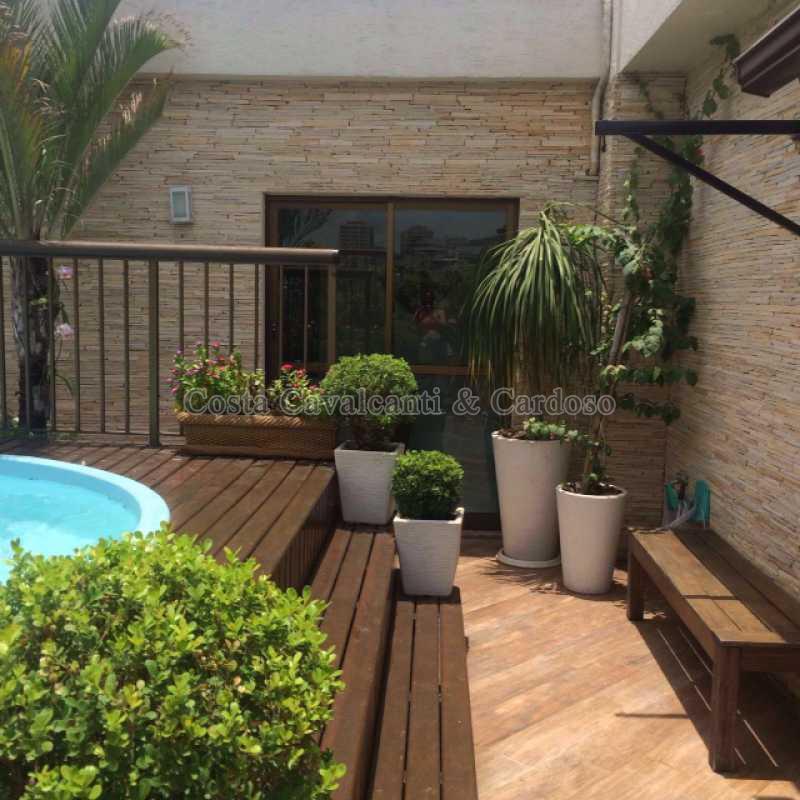 16 - Cobertura 2 quartos para alugar Tijuca, Rio de Janeiro - R$ 4.600 - TJCO20005 - 17