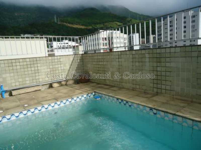 3 piscina - Cobertura 3 quartos à venda Tijuca, Rio de Janeiro - R$ 1.200.000 - TJCO30019 - 4