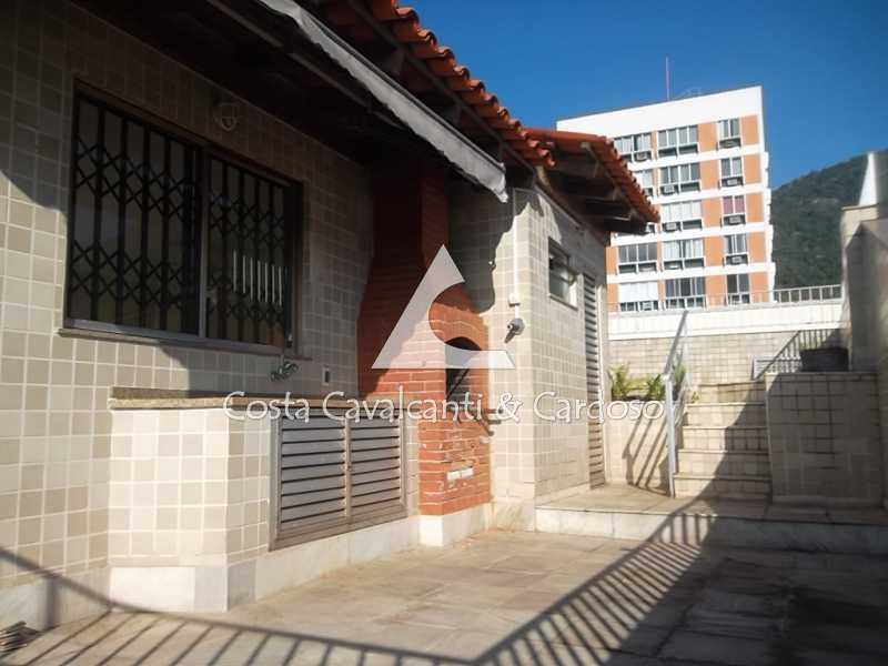 5 Terraço - Cobertura 3 quartos à venda Tijuca, Rio de Janeiro - R$ 1.200.000 - TJCO30019 - 5