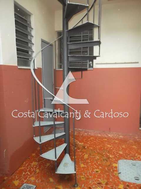 14 escada terraço - Casa de Vila 3 quartos à venda Tijuca, Rio de Janeiro - R$ 440.000 - TJCV30012 - 15