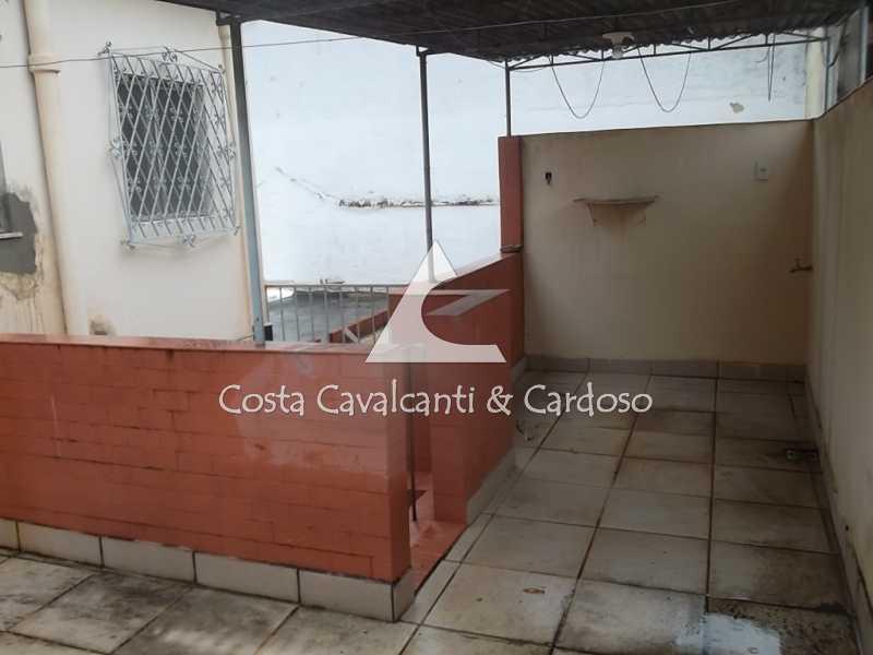 15 terraço - Casa de Vila 3 quartos à venda Tijuca, Rio de Janeiro - R$ 440.000 - TJCV30012 - 16