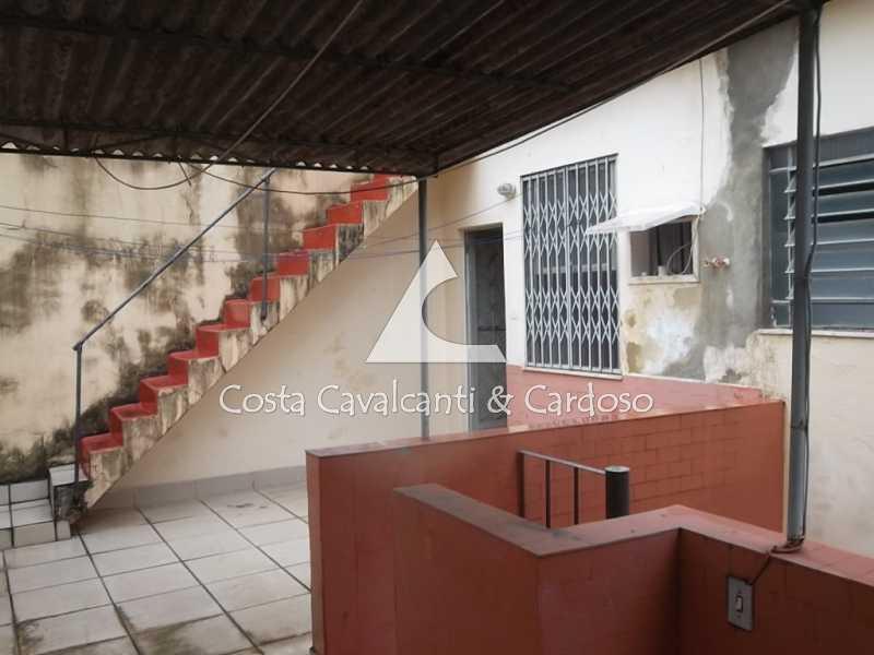 16 terraço - Casa de Vila 3 quartos à venda Tijuca, Rio de Janeiro - R$ 440.000 - TJCV30012 - 17