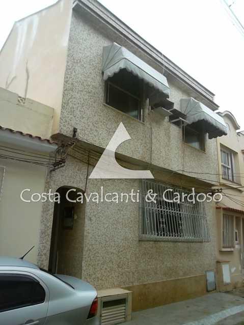 18 fachada - Casa de Vila 3 quartos à venda Tijuca, Rio de Janeiro - R$ 440.000 - TJCV30012 - 19
