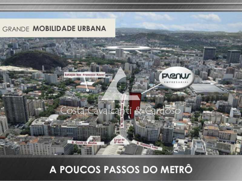 19 - Sala Comercial 29m² à venda Tijuca, Rio de Janeiro - R$ 441.900 - TJSL00011 - 19