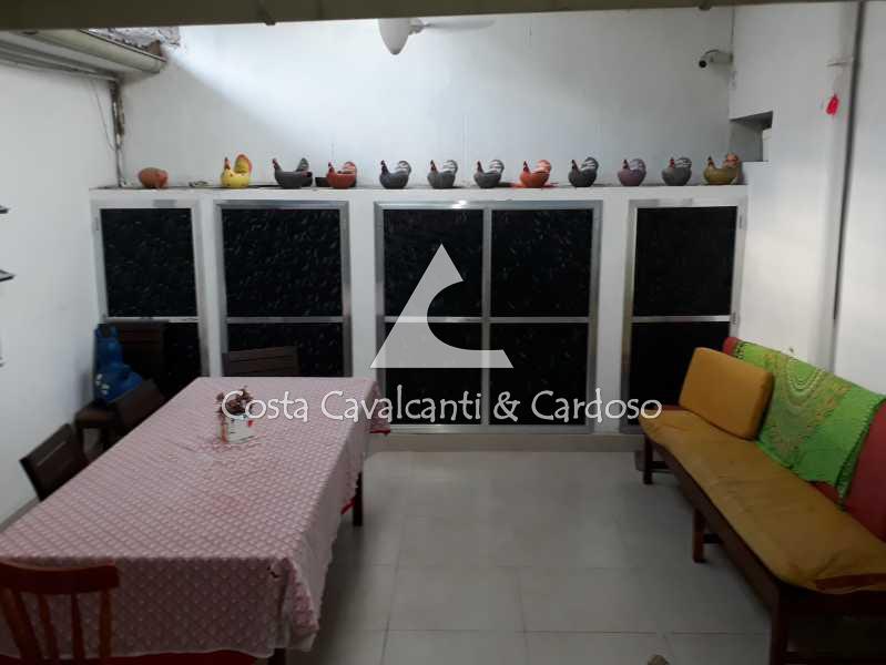 área externa casa 1 - fundos - Casa Maracanã,Rio de Janeiro,RJ À Venda,2 Quartos,360m² - TJCA20007 - 1