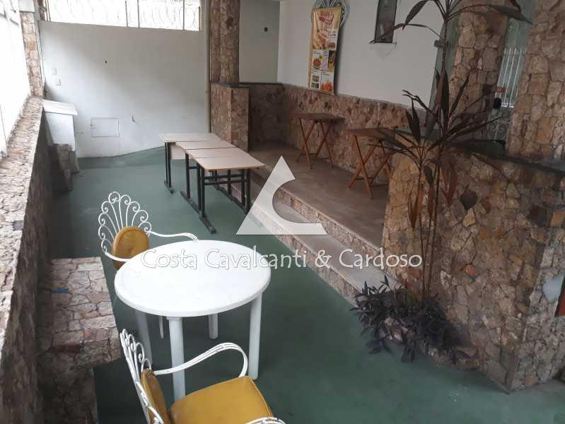 área externa casa 1 - frente - Casa Maracanã,Rio de Janeiro,RJ À Venda,2 Quartos,360m² - TJCA20007 - 21