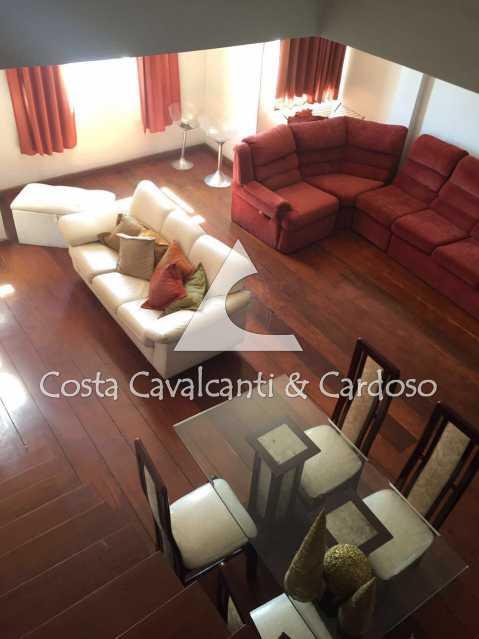 5 sala    - Apartamento 3 quartos à venda Maracanã, Rio de Janeiro - R$ 550.000 - TJAP30242 - 6