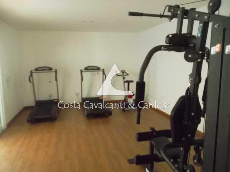 5 espaço fitiness - Cobertura 3 quartos à venda Tijuca, Rio de Janeiro - R$ 899.000 - TJCO30037 - 4