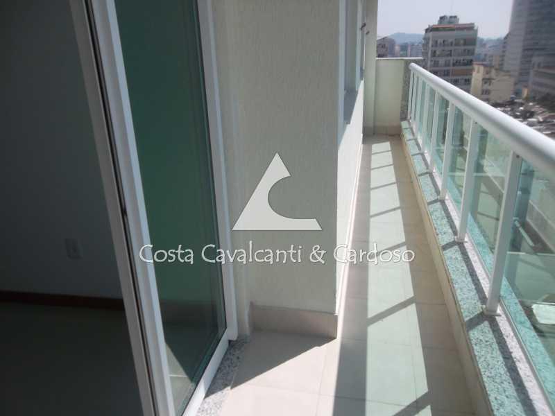 11 varanda - Cobertura 3 quartos à venda Tijuca, Rio de Janeiro - R$ 899.000 - TJCO30037 - 10