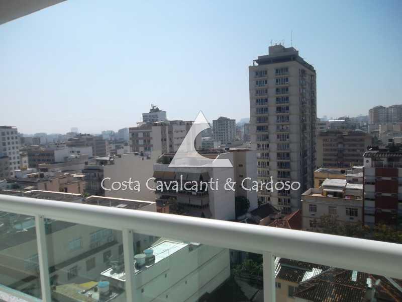 12 vista - Cobertura 3 quartos à venda Tijuca, Rio de Janeiro - R$ 899.000 - TJCO30037 - 11