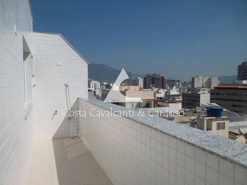 25 terraço - Cobertura 3 quartos à venda Tijuca, Rio de Janeiro - R$ 899.000 - TJCO30037 - 27