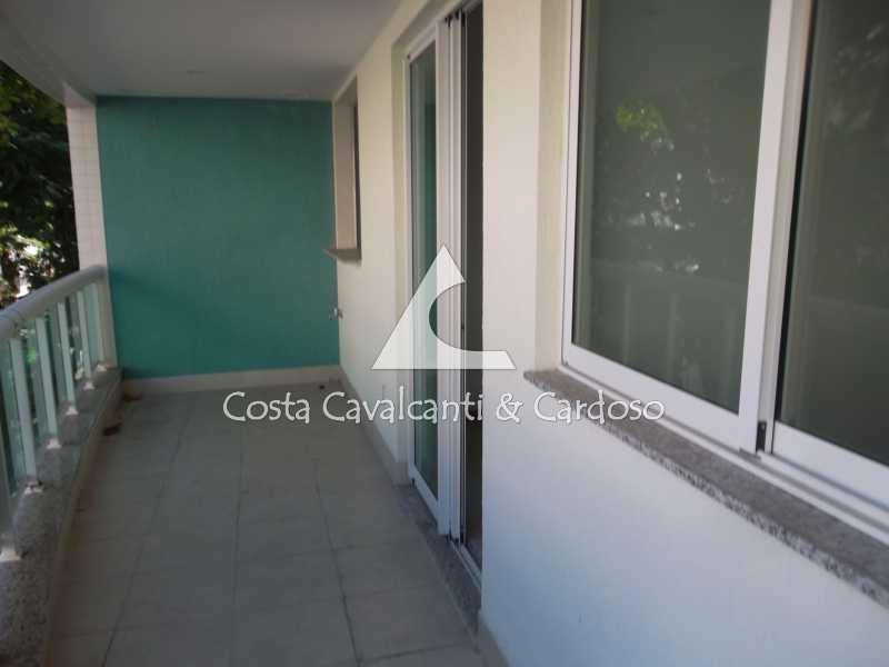 11 varanda - Cobertura Tijuca,Rio de Janeiro,RJ À Venda,3 Quartos,146m² - TJCO30038 - 11