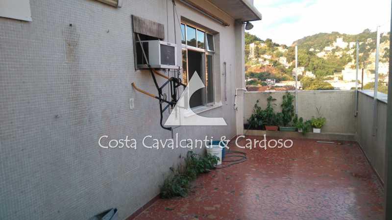 3 Terraço - Cobertura 3 quartos à venda Rio Comprido, Rio de Janeiro - R$ 580.000 - TJCO30041 - 4