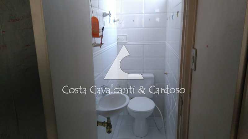 15 Banheiro Suite - Cobertura 3 quartos à venda Rio Comprido, Rio de Janeiro - R$ 580.000 - TJCO30041 - 16