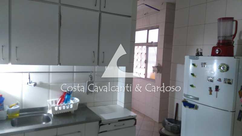 16 Cozinha - Cobertura 3 quartos à venda Rio Comprido, Rio de Janeiro - R$ 580.000 - TJCO30041 - 17