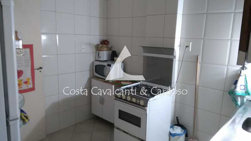 17 Cozinha - Cobertura 3 quartos à venda Rio Comprido, Rio de Janeiro - R$ 580.000 - TJCO30041 - 18