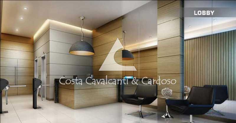 02Lobby - Sala Comercial 30m² para alugar Tijuca, Rio de Janeiro - R$ 750 - TJSL00025 - 4