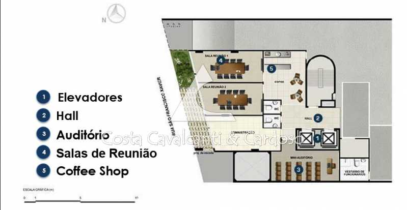 04Infra - Sala Comercial 30m² para alugar Tijuca, Rio de Janeiro - R$ 750 - TJSL00025 - 8