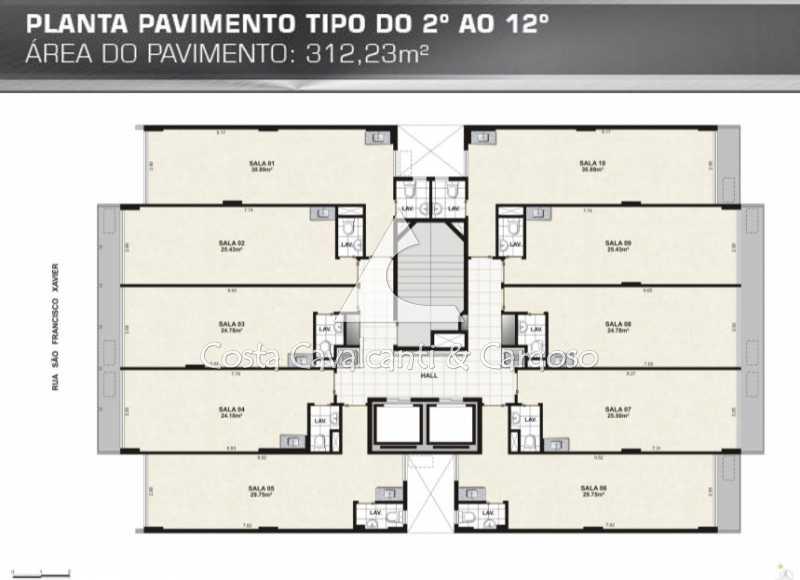 08Planta -  - Sala Comercial 30m² para alugar Tijuca, Rio de Janeiro - R$ 750 - TJSL00025 - 15