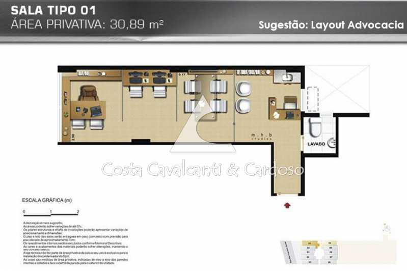 09Sala - Sala Comercial 30m² para alugar Tijuca, Rio de Janeiro - R$ 750 - TJSL00025 - 18