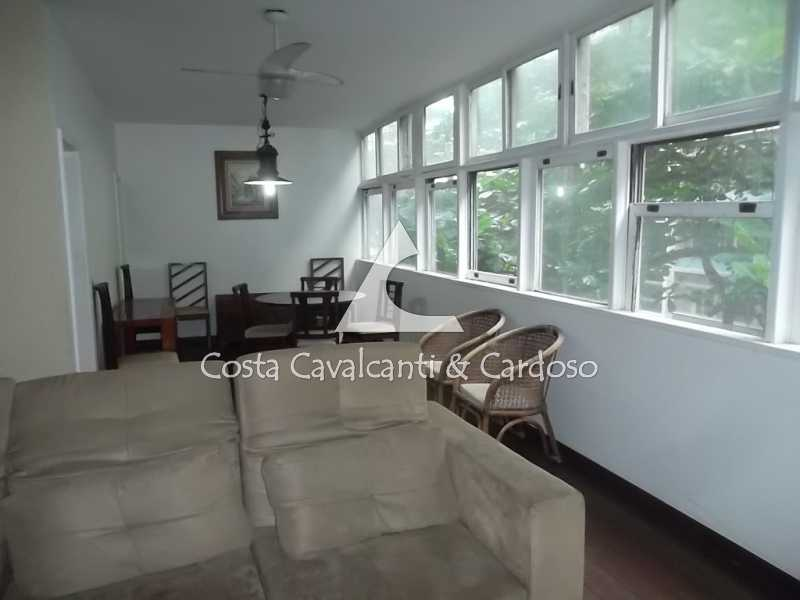 2 salão - Apartamento 3 quartos à venda Copacabana, Rio de Janeiro - R$ 1.350.000 - TJAP30264 - 3