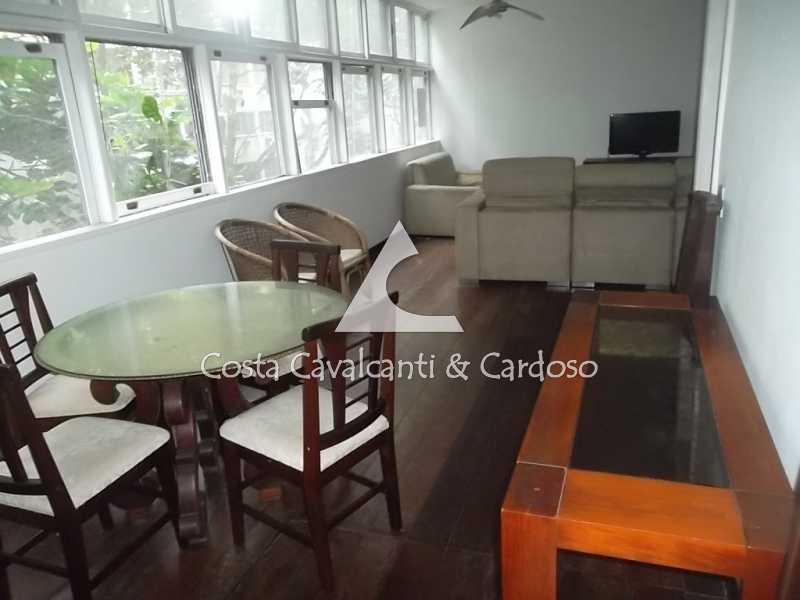 4 salão - Apartamento 3 quartos à venda Copacabana, Rio de Janeiro - R$ 1.350.000 - TJAP30264 - 5
