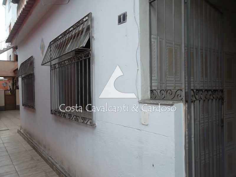 5 fachada casa - Casa de Vila 2 quartos à venda Taquara, Rio de Janeiro - R$ 225.000 - TJCV20005 - 1