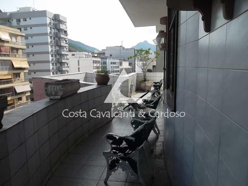 1 terraço - Cobertura 3 quartos à venda Tijuca, Rio de Janeiro - R$ 950.000 - TJCO30045 - 1