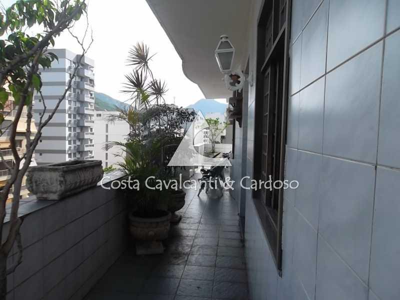 2 terraço - Cobertura 3 quartos à venda Tijuca, Rio de Janeiro - R$ 950.000 - TJCO30045 - 3