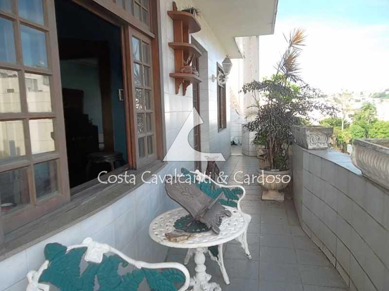 3 terraço - Cobertura 3 quartos à venda Tijuca, Rio de Janeiro - R$ 950.000 - TJCO30045 - 4